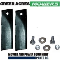"RIDE ON MOWER BLADE KIT FOR GREENFIELD 28"" MOWERS GT148 , GT932 , GT2141"