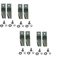 4 SETS OF RIDE ON MOWER BLADES FOR 40 INCH COX , VICTA & KINGCAT SKIT41
