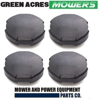 4 X COVER FOR SPEED FEED 450 HEADS (LARGE) LINE TRIMMER LINE
