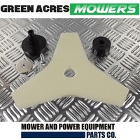 TRIMMER /WHIPPER SNIPPER BLADE AND ADAPTOR KIT FOR RYOBI BENT SHAFT TRIMMERS