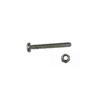MOUNTING BOLT & NUT FITS MOST PLASTIC AND STEEL LAWN MOWER THROTTLE CONTROLS