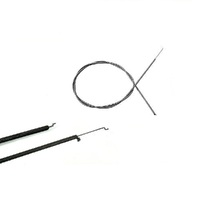 THROTTLE CONTROL CABLE FOR ROVER MOWERS 1575mm