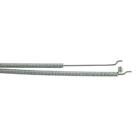 THROTTLE CONTROL CABLE FOR ROVER MOWERS 1245mm