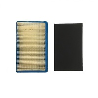 6 X LAWNMOWER AIR FILTER & PRE FILTER FOR HONDA GXV140 MOTORS (SIDE MOUNTING)