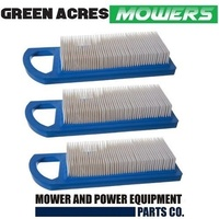 3 X AIR FILTER KIT FOR  BRIGGS AND STRATTON 14 to17.5 HP 697014 695547 795115