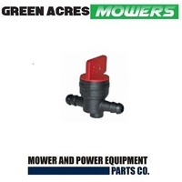 FUEL TAP INLINE FUEL TAP FOR LAWN & RIDE ON MOWERS BRIGGS HONDA  494768 , 698183