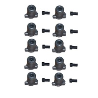 10 x STOP SWITCH CUT OUT PLUG AND COVER FOR SELECTED VICTA VC160  LAWNMOWERS
