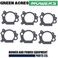 6 X INTAKE GASKET FOR BRIGGS AND STARTTON LAWN MOWERS 692667
