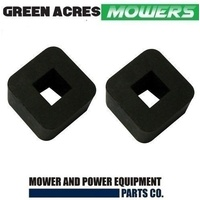 2 X GRASS CATCHER RUBBERS FOR ROVER AND SCOTT BONNAR CYLINDER MOWERS A453085K