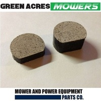 BRAKE PAD SET FOR SELECTED VICTA RIDE ON MOWERS