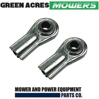 2 X RIDE ON MOWER TIE ROD END FOR ROVER AND COX MOWERS A07150
