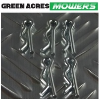 "RIDE ON MOWER R CLIPS 7/64""X 1 1/4""   5 PAC"