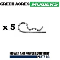 "RIDE ON MOWER R CLIPS 1/8"" X 1 7/8"" 5 PAC"