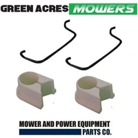 SPLIT FRONT AXLE BUSHES AND CLIPS FOR SELECTED MASPORT LAWN MOWER