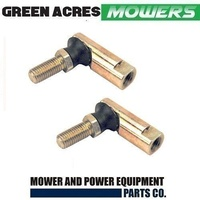 2 X STEERING BALL JOINT TIE ROD END  FOR MTD MOWERS   723-0448A
