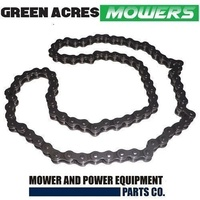 DRIVE CHAIN FITS SELECTED GREENFIELD RIDE ON MOWERS 78 PINS 1/2 X 5/16 OEM GT18006