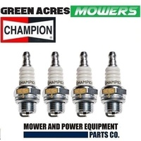 LAWNMOWER CHAINSAWS TRIMMERS SPARK PLUGS CHAMPION CJ6 4 PAC