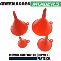 FUEL OIL FUNNEL SET 4 IN 1 FOR RIDE ON MOWER LAWN MOWER TRIMMER WHIPPER SNIPPER