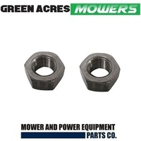 2 x SPINDLE  JACKSHAFT NUTS FOR MURRAY RIDE ON MOWER