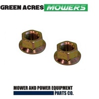 RIDE ON MOWER SPINDLE NUTS FOR MTD   YARDMAN   CUB CADET  712-0417 ,  912-0417