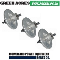 3 X RIDE ON MOWER BLADE SPINDLE ASS FOR MURRAY,VIKING & ROVER  MOWERS