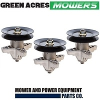 "3 X BLADE SPINDLE ASSY FOR 50 & 54"" MTD , CUB CADET ROVER MOWERS   918-04126"