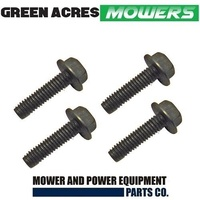 4 X BLADE SPINDLE HOUSING BOLTS FITS TORO ,HUSQVARNA , McCULLOCH & POULAN MOWERS