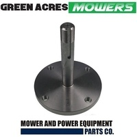RIDE ON MOWER SPINDLE SHAFT FOR GREENFIELD REMOVABLE BLADE DISK HOLDER