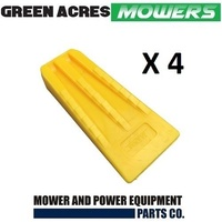 4 PAC OF 5 1/2 INCH CHAINSAW TREE FELLING AND SPLITTING WEDGES