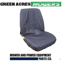 HIGH BACK  RIDE ON MOWER SEAT COVER SUIT JOHN DEERE MURRAY  VICTA HUSQVARNA MTD