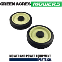 2 X 200mm WHEELS FOR SELECTED HONDA LAWN MOWERS 42710-VJ9-000 , 42710-VA3-KOO