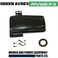 LAWN MOWER MUFFLER FOR VICTA VC160 MOTORS INCLUDES CLIPS & GASKET