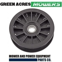 FLAT IDLER PULLEY FITS SELECTED COX RIDE ON MOWERS  PIFBB02