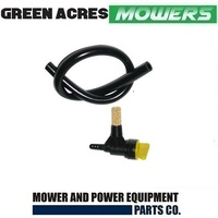 FUEL TAP AND FUEL HOSE FOR VICTA LAWN MOWERS SUITS 2 STROKE EN72866A , HA25396K