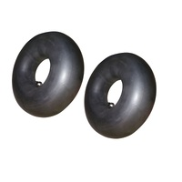 2 X RIDE ON MOWER TUBE 13 X 500 X 6 BENT STEM VALVE FOR GREENFIELD MURRAY ROVER