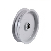 RIDE ON MOWER FLAT IDLER PULLEY FOR JOHN DEERE AND WHEELHORSE AM35590