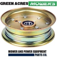 FLAT IDLER PULLEY FOR HUSQVARNA MOWERS OEM 532 13 27 28 , 132728