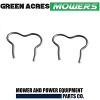 GENUINE SANLI LAWN MOWER WHEEL CLIP X 2 FITS LCS400 , PMS400 , PMS550 , PCS400
