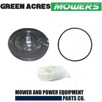 STARTER PULLEY , SPRING , O RING AND ROPE FOR VICTA POWER TORQUE MOTOR