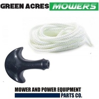 STARTER HANDLE AND CORD ROPE FOR VICTA LAWN MOWERS