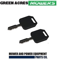2 x RIDE ON MOWER KEY FITS SELECTED HUSQVARNA , JOHN DEERE , MTD , MURRAY MOWERS