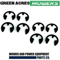 8 X LAWNMOWER E CLIP WHEEL RETAINER FOR VICTA MOWERS  CH80159B