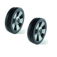 2 X 6 1/2 INCH WHEELS FOR ROVER LAWN MOWERS
