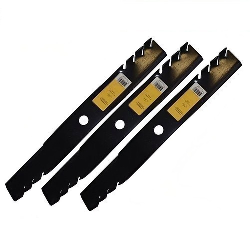 "RIDE ON MOWER BLADE SET FOR SELECTED 60 "" JOHN DEERE PREDATOR ,GATOR STYLE BLADE"