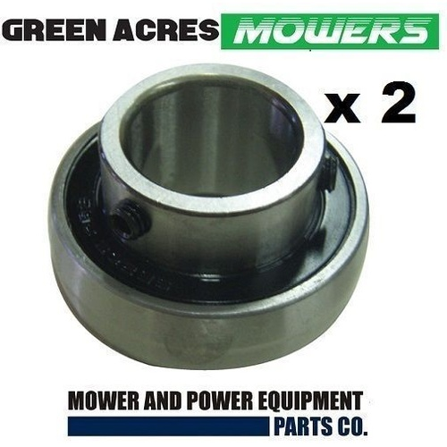 2 X COX INTERMEDIATE LAY SHAFT BEARINGS  FIT SELECTED RIDE ON MOWERS   BB25SAN