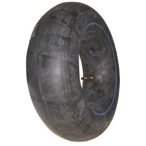 RIDE ON MOWER TUBE 410 X 350 X 4 BENT STEM VALVE FITS SELECTED GREENFEILD