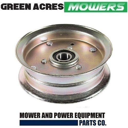 RIDE ON MOWER DECK IDLER PULLEY FOR SELECTED ROVER AND TROY BILT MODELS 756-05034