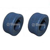 2 x TYRES 18 x 850 x 8 FOR RIDE ON MOWERS