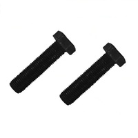 2 x BLADE BOLTS FOR SELECTED LAWN & RIDE ON MOWERS  3/8 X 1 1/2 INCH
