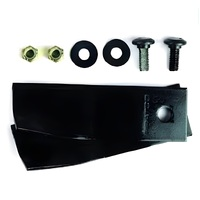 "5 SETS OF BLADES & BOLTS FIT 18"" MTD MOWERS WITH A SWING BACK HOLDER"